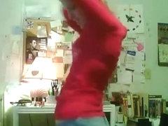 Astounding wazoo popping web camera panty episode