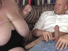 Big breasted Anorei Collins gets fucked from behind