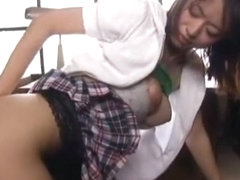 Horny Japanese slut in Crazy Upskirts/Panchira JAV video