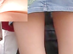 Wicked red panty upskirt episode