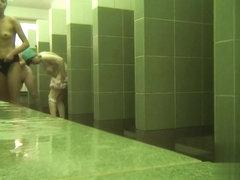 Hidden cameras in public pool showers 950