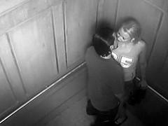 Security cam caught couple fucking