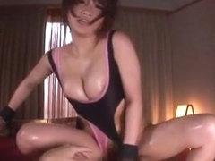 Exotic Japanese model in Hottest Sports, BDSM JAV movie