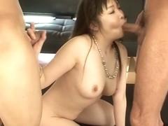 Crazy Japanese whore Haruka Oosawa in Amazing JAV uncensored Hardcore movie