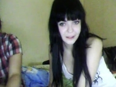 Webcam porn clip with two hot lesbians