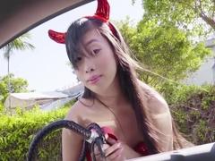 Jade Kush In Big Asian Tits In Sexy Costume