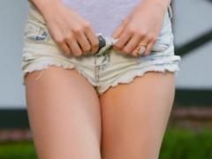 Hottest pornstar Brittany Kelly in Amazing Striptease, Redhead porn movie