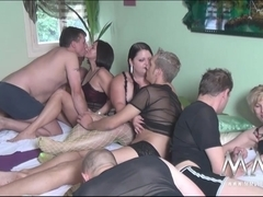 MMVFilms Video: Gang Bang Party