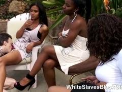 Ebony Babes using a new white ###