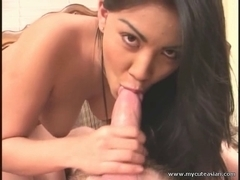 Hottest Oriental Hunny Bunny oral-sex!