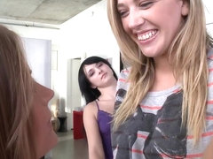 Hot Lesbian Threesome