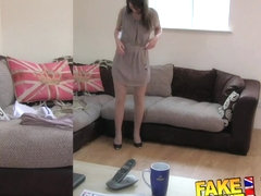 FakeAgentUK Orgasms and squirting from Latvian babe