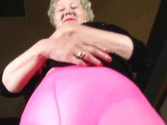 Nylon sends mom into a masturbation frenzy