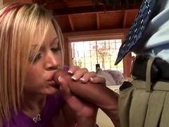 Wonderful blowjob of the sexy Jasmine Jolie
