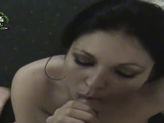 Dark haired girl Sariah fucking with Jay