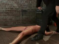 Cum Drenched Slut Teased - Flogged - Tickled