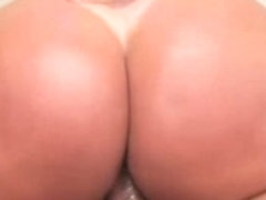 Chubby Big Boobed T-Girl Seduces A Horny Stud Into Fucking