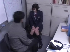 Jap babe gets dicked well in spy cam Asian sex video