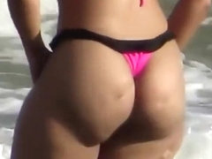 Smooth nudist girl's pussy and tits