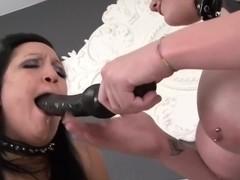 Lesbian playing