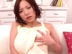 Incredible Japanese girl Ruri Saijou in Horny MILFs, Big Tits JAV video