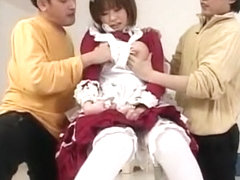 Fabulous Japanese slut in Amazing Maid/Meido JAV movie