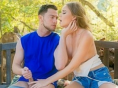 Alexis Adams & Seth Gamble in I Like To Play Rough, Scene #04