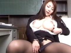 Best Japanese girl in Crazy JAV uncensored Masturbation video
