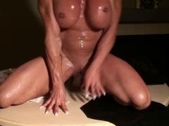 Sweatin N Peccin on My Large Dick