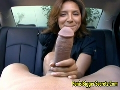 Sexy Latin Chick Drilled Hard And Got A Facail