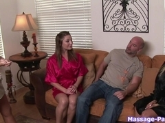 Massage-Parlor: Rub, Tub, and Tug