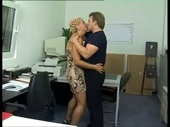 German Older Office AnaL SeX