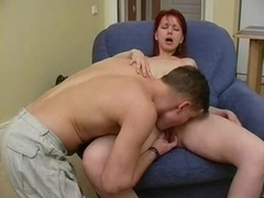 Russian MILF and guy - 42