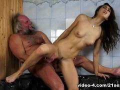 Carolina Abril in Bring the Heat Video