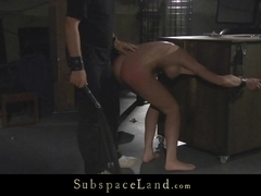 Harsh treatment and anal bliss in bdsm