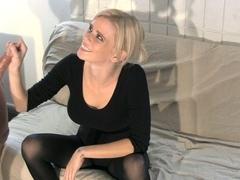 Vanessa Vixon Milks Her Roommate with CBT Fun