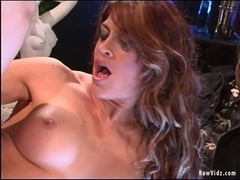 RawVidz Video:  Hot Pole Dancer Aria's Anal Sex