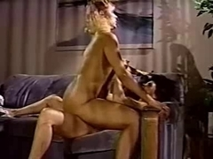 2 lustful and honey thick retro lesbian sluts in action