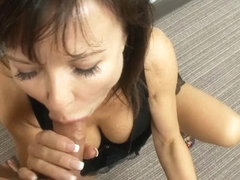 Rough anal fuck with brunette milf who likes hard rod