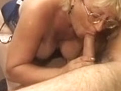 Granny and young man - 21