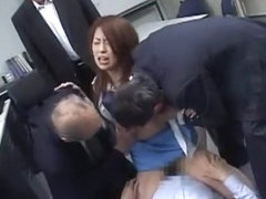 Incredible Japanese girl Koyuki Morisaki, Riko Tachibana, Emi Koike in Hottest Gangbang JAV video