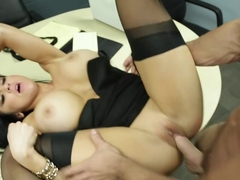 Audrey Bitoni & Johnny Castle in Naughty Office