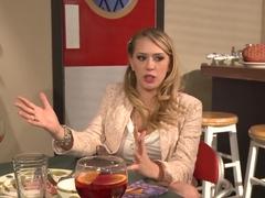 Exotic pornstars April O'Neil and Kagney Linn Karter in amazing dildos/toys, latina sex video