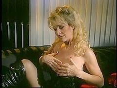 Mature blondie tits fuck and cum