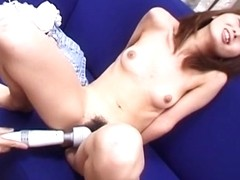 Hottest Japanese slut in Fabulous JAV uncensored Dildos/Toys scene