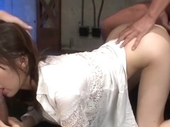 Horny Japanese chick Junna Kogima in Best JAV uncensored Co-ed scene