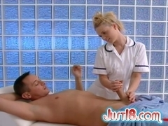 Just18 Video: Yasmine Gold and Tristan Seagal