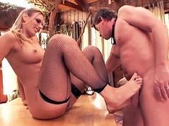 Darryl Hanah in Pussyman kinky milf club scene 4