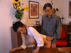Large marangos secretary fucking her boss
