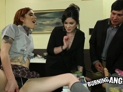 Confiscated Dildos! BurningAngel Video